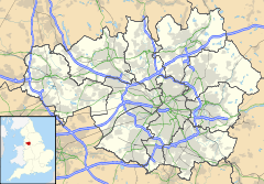 Crumpsall is located in Greater Manchester