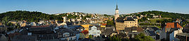 "Greiz viewed from the ""Oberes Schloss"" (""Upper Castle"")"