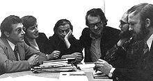 Le group Mu en 1970