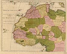 Description de l'image  Guillaume Delisle North West Africa 1707.jpg.