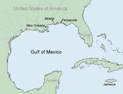 Mapa del golfo