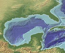 Modelización en 3D del golfo de México.