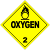 Class 2.2: Oxygen (Alternative Placard)