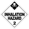 Class 2.3: Inhalation Hazard (Alternative Placard)