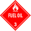 Class 3: Fuel Oil (Alternate Placard)
