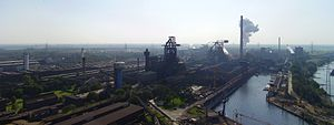 Planta siderúrgica de Krupp Mannesmann