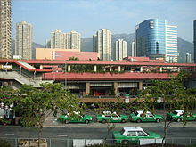 HK Tuen Mun Cultural Square n green taxi stop.JPG