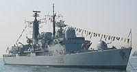 Le HMS Southampton britannique