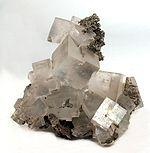 Halite crystal (macroscopic)