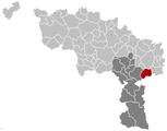 Ham-sur-Heure-Nalinnes Hainaut Belgium Map.png