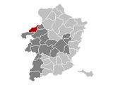 Ham Limburg Belgium Map.png