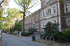 Hamilton Walk and the John Morgan Building at the Perelman School of Medicine
