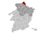 Hamont-Achel Limburg Belgium Map.png