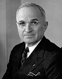 Harry S. Truman, thirty-third President of the United States