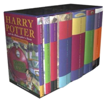 Complete set of the seven books of the Harry Potter series.