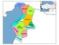 Districts de la province de Hatay