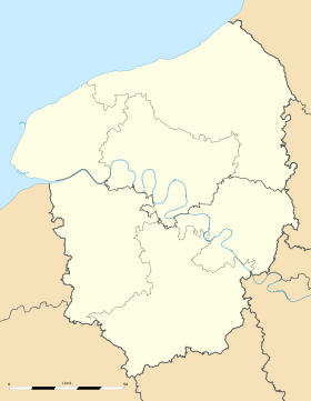 Tancarville is located in Upper Normandy
