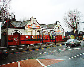 L'ancienne gare de Heeley en 2006.