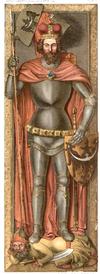 Henryk II Pobożny tomb effigy.PNG