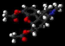 Molécule de diacétylmorphine