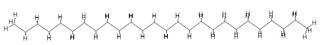 Représentations de l'hexacosane