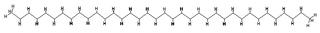 Représentations de l'hexatriacontane