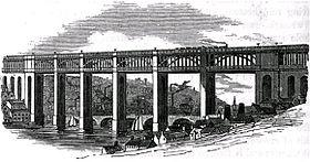 High Level Bridge - Newcastle - circa 1852.jpg