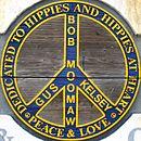Partie de la sculpture «Hippie memorial» (photographie)
