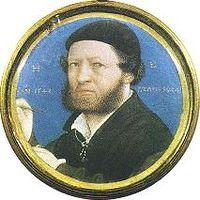 miniatura Hanse Holbeina mladšího od Lucase Horenbouta