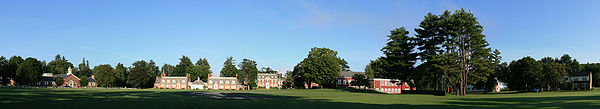 Holderness School campus