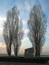 La «pierre Brunehaut» (2500 av. J.-C.) à Hollain