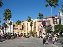 Photo de l'entrée dUniversal Studios Florida.