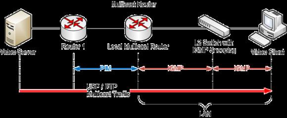 IGMP architecture example
