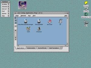 IRIX 6.5 Desktop