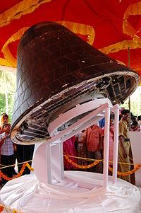 La SRE-1 conservée pour exposition publique à Thiruvananthapuram le 29 avril 2007