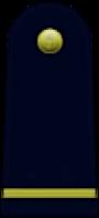 Single gold bar on a blue background.
