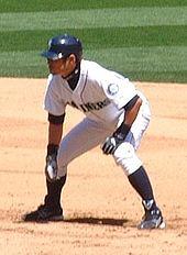 Ichiro on base.JPG