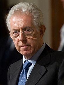 Il Presidente del Consiglio incaricato Mario Monti (cropped).jpg