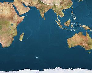 Aldabra is located in Indian Ocean