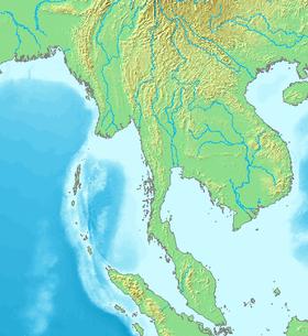 Carte de l'Indochine.