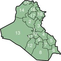 محافظات العراق