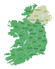 Ireland trad counties named.svg