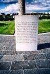 Island of Ireland Peace Park, Messines