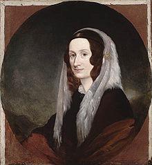 Peinture, plan poitrine, d'Isabella Clark MacDonald.