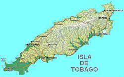 Ubicación de Tobago