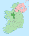 Island of Ireland location map Roscommon.svg