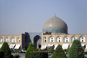 La Mosquée du Sheikh Lotfollah, Place Naghsh-e Jahan.