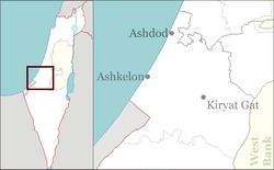 Sderot is located in Israel