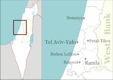 Be'er Ya'akov is located in Israel