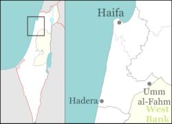 Kiryat Tiv'on is located in Israel